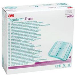 3M Foam Dressing Non-Adhesive Fenestrated 3.5 in x 3.58 in 90604 - Total Diabetes Supply
