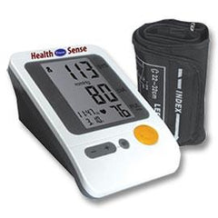 Health Sense Fully Automatic Upper Arm Blood Pressure Monitor - One Each - Total Diabetes Supply