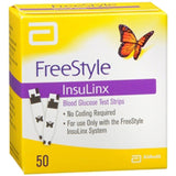 Freestyle Insulinx Glucose Test Strips - 50ct
