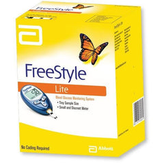 FreeStyle Lite Glucose Meter - Total Diabetes Supply