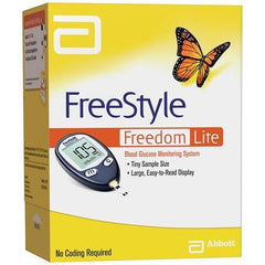 FreeStyle Freedom Lite Glucose Meter - Total Diabetes Supply