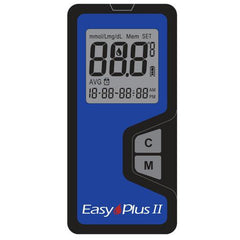 Easy Plus II Glucose Meter - Total Diabetes Supply