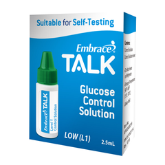 Embrace TALK Control Solution - Low- 2.5mL