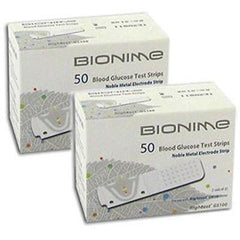 Bionime GS100 Test Strips - 100 ct. - Total Diabetes Supply