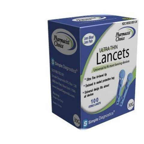 Pharmacist Choice Twist Top Lancets  30G -100 ct. - Total Diabetes Supply