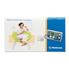 Minimed MNHMSPLOGI Insulin Pump Therapy Record Book