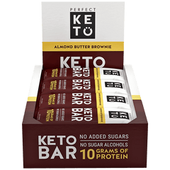 Almond Brownie Perfect Keto Bars - 12 ct.