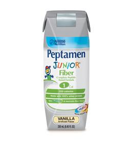 Nestle Healthcare Nutrition Peptamen Junior  Fiber - Vanilla Flavor Liquid - 8oz