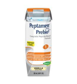 Nestle Healthcare Nutrition Peptamen with Prebio1 - Vanilla Flavor Liquid Nutrition 250mL