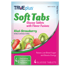 TRUEplus Glucose Tablets - Kiwi Strawberry 4 ct.