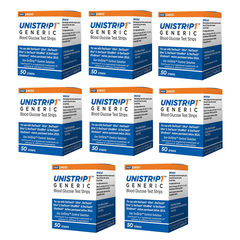 UniStrip Glucose Test Strips - 400 ct. - Compatible with OneTouch Ultra Meters