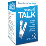 Embrace TALK Test Strips - 50ct.