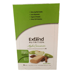 Extend Nutrition Anytime Bar - Apple Cinnamon - 15 Pack