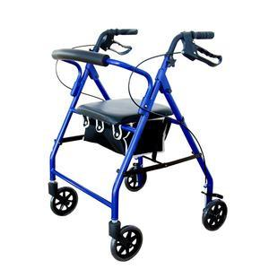 Reliamed Rollator, Soft Seat, Blue - Each