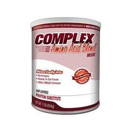 Applied Nutrition Corp Complex MSD Amino Acid Blend 454g Can, 1466 Calories, Unflavored - Each - Total Diabetes Supply