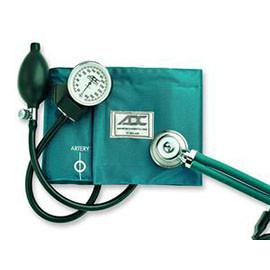 American Diagnostic Pro's Combo II Kit Cuff and Stethoscope TeaL, Latex-Free Inflation Bladder and Bulb -  One Each - Total Diabetes Supply
