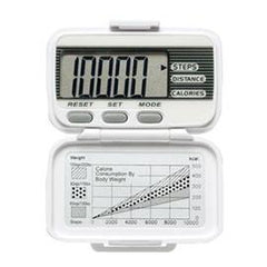 LifeSource Digital Walking Pedometer - Item #: AEXL15 - One Each - Total Diabetes Supply