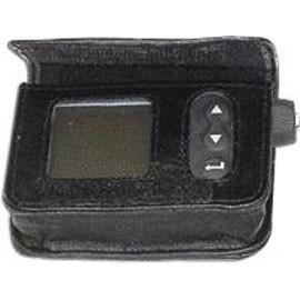 Animas Corporation Leather Case with Belt Clip, Black, For Animas IR 1200 series and Animas 2020 Insulin Pumps, Each - Total Diabetes Supply