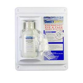 Direct Safety Single Emergency Eye Wash Station 16 oz, Sterile - Each - Total Diabetes Supply