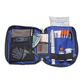 Medicool Dia-Pak Classic Organizer - Blue - Total Diabetes Supply
