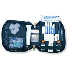 Medicool Dia-Pak Classic Organizer - Black - Total Diabetes Supply