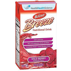 Nestle Healthcare Nutrition Resource Breeze Nutritional Supplement Wild Berry 8oz Brik