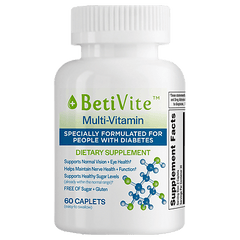 BetiVite Multi-Vitamin Dietary Supplement for Diabetics, 60 ct.