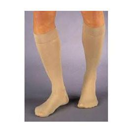 BSN Jobst Relief Knee High Moderate Compression Stockings Large, Beige, Closed Toe, Unisex, Latex-free,  (PR of 1 EA) - Total Diabetes Supply