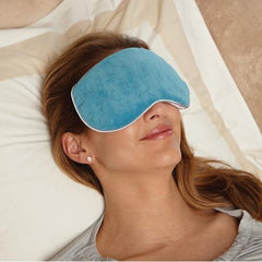 Carex Health Brands Bed Buddy At Home Relaxation Mask, Blue - Each