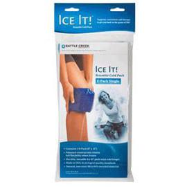 "Ice It! ColdComfort Cold Therapy Refill - E-Pack Double, 6"" x 12"" Vinyl - Each - Total Diabetes Supply"