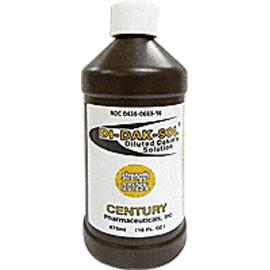 Century Pharmaceuticals Di-Dak-Sol Diluted Dakin's Solution 0125% 16 oz, Each - Total Diabetes Supply