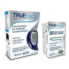 Truetrack Diabetes Meter Kit Combo (Meter Kit and Truetrack 50ct) - Total Diabetes Supply