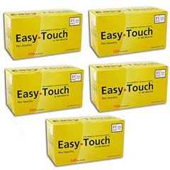 "EasyTouch Pen Needle - 31G 5/16"" - BX 100 - Case of 5 - Total Diabetes Supply"