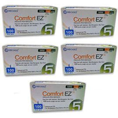 "Clever Choice Comfort EZ Mini - 31G 5mm 3/16"" - BX 100 - Case of 5 - Total Diabetes Supply"