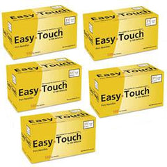 "EasyTouch Pen Needle - 31G 3/16"" - BX 100 - Case of 5 - Total Diabetes Supply"