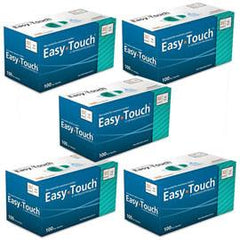 "EasyTouch Pen Needle - 32G 1/4"" - BX 100 - Case of 5 - Total Diabetes Supply"