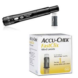 Accu-Chek Fastclix Lancing Device w/ FastClix Lancets - 102ct - Total Diabetes Supply