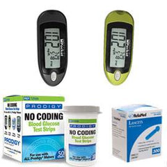 400 Prodigy Test Strips, 300 Reliamed Lancets, & Prodigy Pocket Meter - Total Diabetes Supply