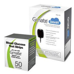 Gmate SMART Meter Combo (Meter and Test Strips 50ct)