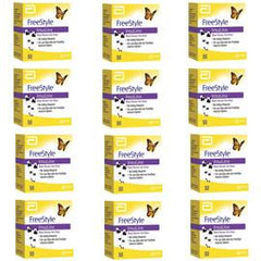 Freestyle Insulinx Glucose Test Strips - 50 ct. - Case of 12 - Total Diabetes Supply