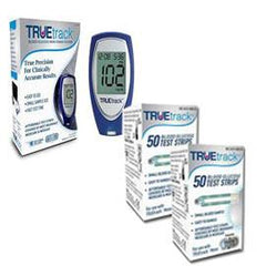FREE TRUEtrack Diabetes Meter Kit with 100 Test Strips - Total Diabetes Supply