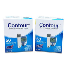 Bayer Contour Test Strips - 100 ct.
