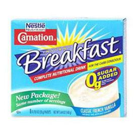 Nestle Carnation Inst Breakfast Carb Conscious Choc,ca/64  - Total Diabetes Supply