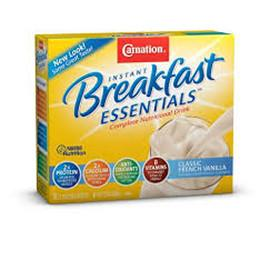 Nestle Healthcare Nutrition Carnation Instant Breakfast Essentials Classic Fr Vanilla - Powder - Total Diabetes Supply