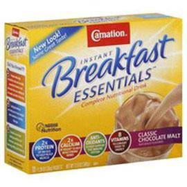Nestle Healthcare Nutrition Carnation Instant Breakfast Essentials Variety Pack Powder Drink mix  - 60/Case - Total Diabetes Supply