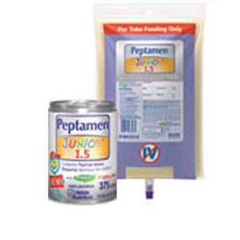Nestle Nutrition UltraPak Peptamen Junior Complete Peptide-based Elemental Nutrition 1000mL Bag - Total Diabetes Supply