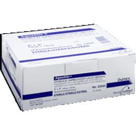 "Derma Sciences Aquasite Derma Aquasite Hydrogel Impregnated Gauze 4"" x 4"", Sterile (10 pcs. per box) - Total Diabetes Supply"