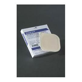 "Derma Primacol Bordered Hydrocolloid Dressing 8"" x 8"" Square, Sterile, Transparent, Film Backing, Tapered Edge (5 pcs. per box)"