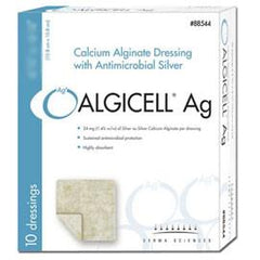 "Derma Algicell Calcium Alginate Dressing 4"" x 8"", Sterile, Soft, White (10 pcs. per box) - Total Diabetes Supply"
