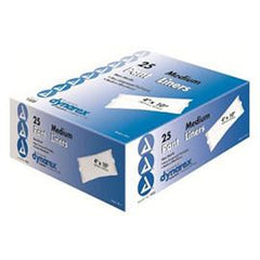 "Dynarex Incontinence Pant Liner 4"" x 11"", 21g - One pkg of 25 each - Total Diabetes Supply"